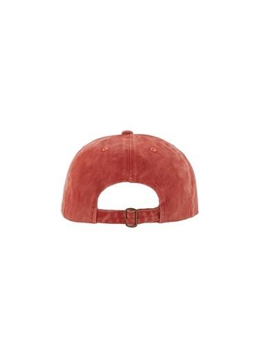 Laslusa Düz Renk Beyzbol Cap Şapka Oranj